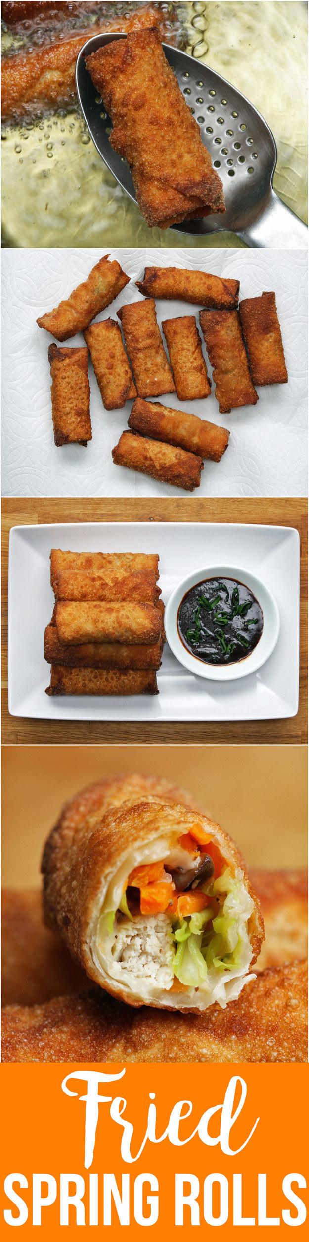 Chicken & Veggie Spring Rolls