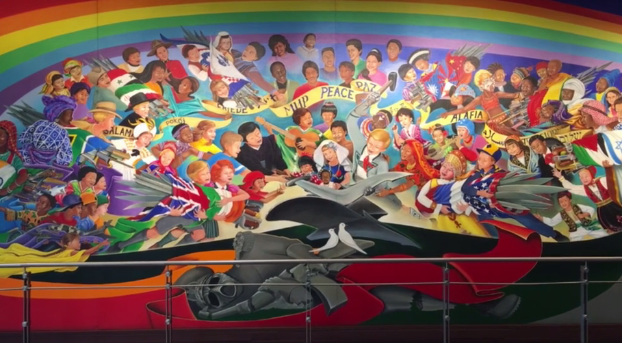 8 conspiracy theories about the denver airport that 39 ll for Denver mural airport