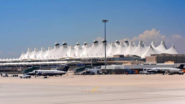 When Denver International Airport Opened On Feb 28 1995 Construction Had Fallen 16