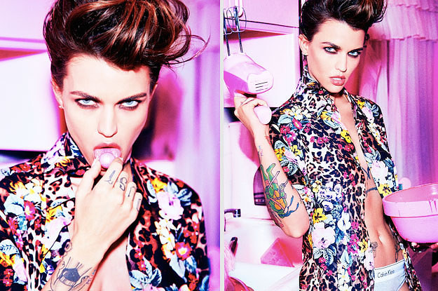Ruby Rose's Latest Photo Shoot Is So Hot It Will Actually