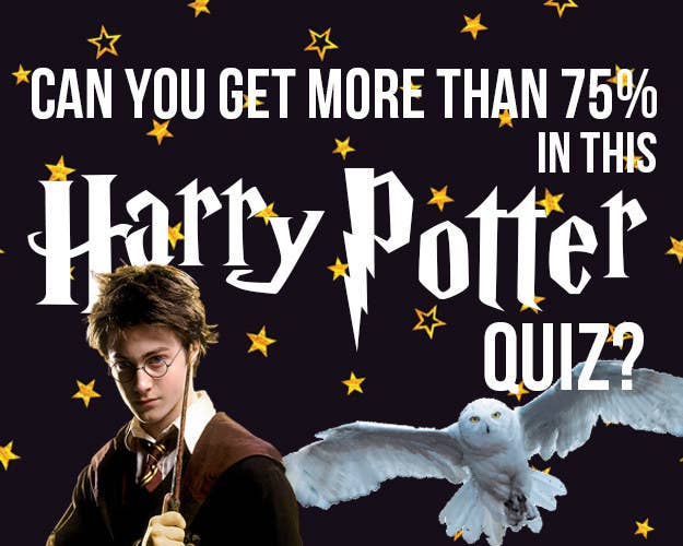 Can You Get More Than 75% In This Harry Potter Quiz?