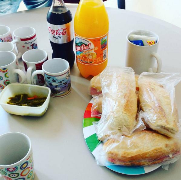 Esta es la definición de un picnic a la Godínez.