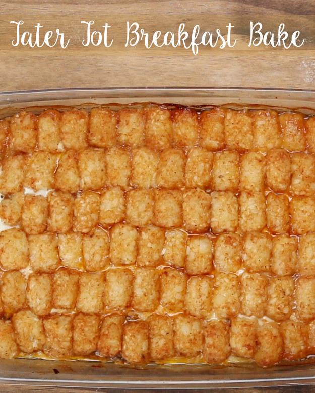 Tater Tot Breakfast Bake