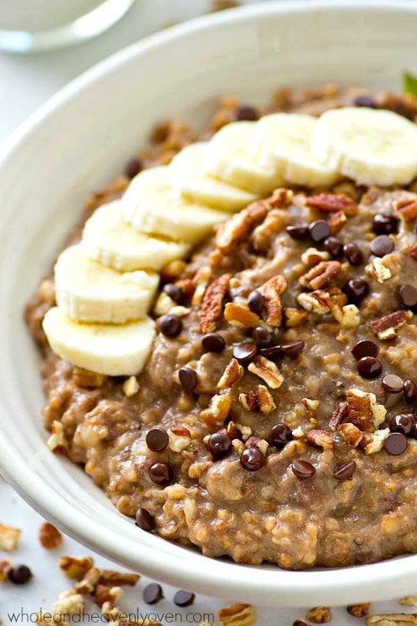 """Add chocolate chips for a truly """"healthyish"""" breakfast. Get the recipe here."""