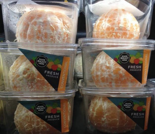 ¡IMAGINA nomás pelar una naranja!