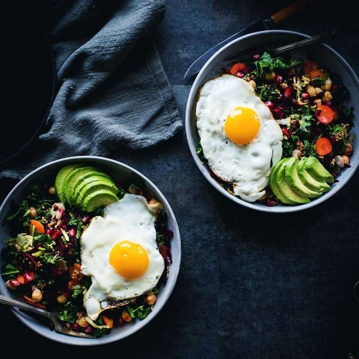This version uses avocados, kale, and cilantro — but you can use just about any greens you have handy. Learn more here.