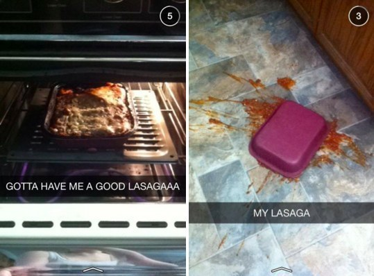 Your lasagne in real life: