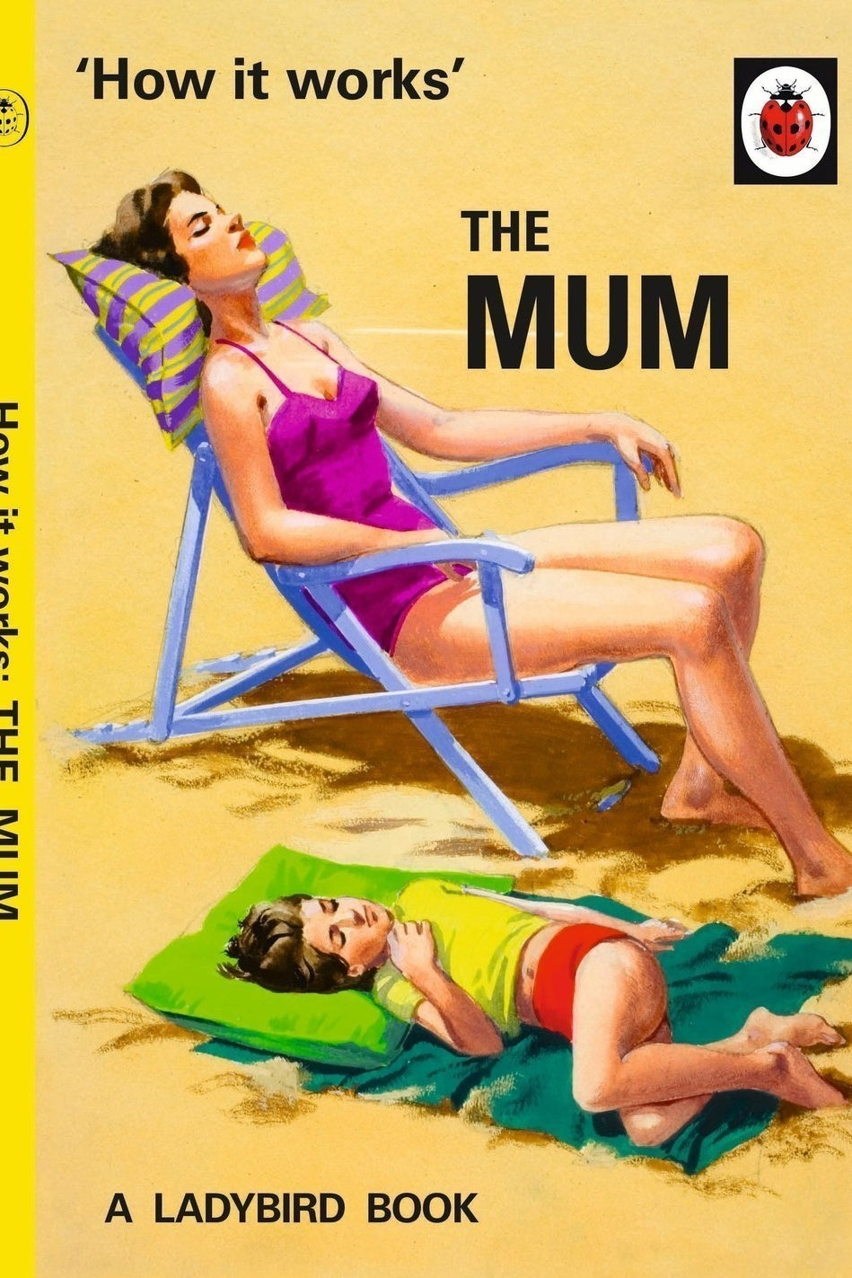 Spoof Ladybird books were big sellers at Christmas.