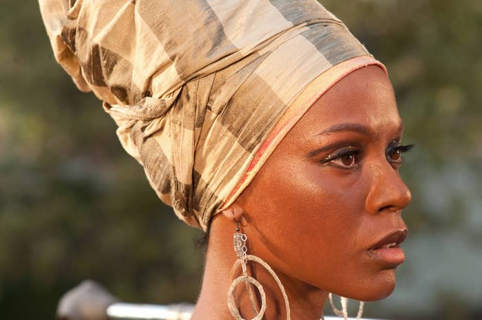 Zoe Saldana as Nina Simone in Nina.