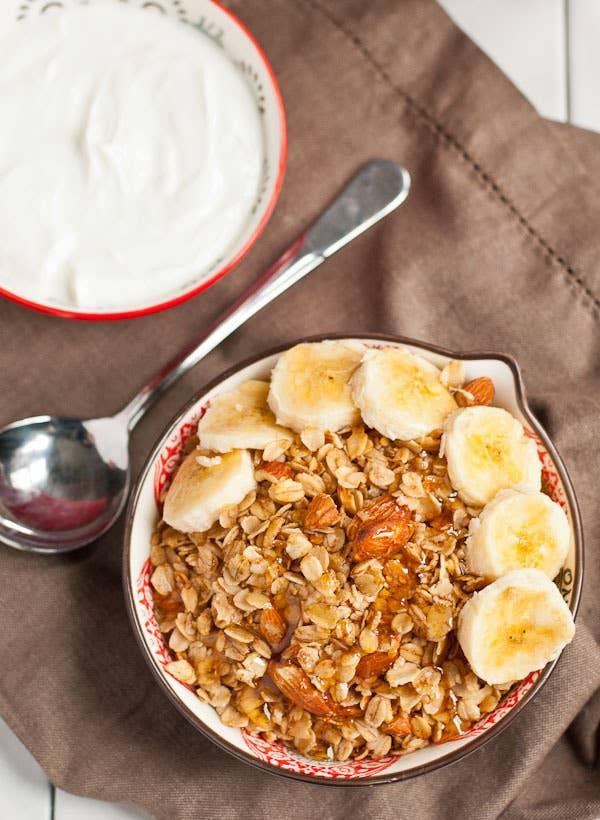 (To put on your homemade yogurt.) Get the recipe here.