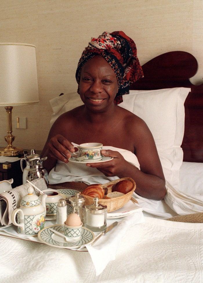 Nina Simone in France in July 1988.