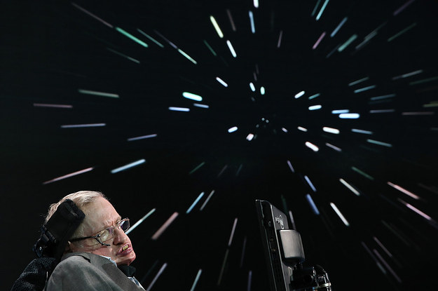 Stephen Hawking Is Building Thousands Of Tiny Spaceships To Find Intelligent Life
