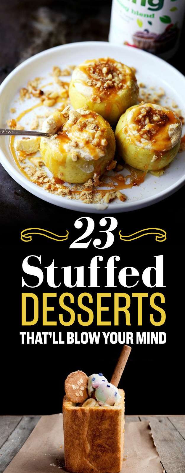 23 Stuffed Desserts That'll Blow Your Mind
