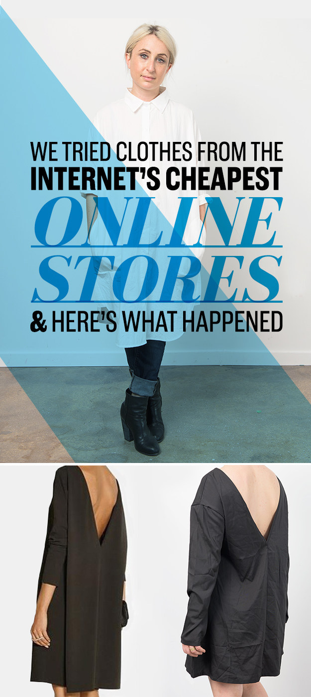 We Tried Clothes From The Internet\u0027s Cheapest Stores And Here\u0027s ...