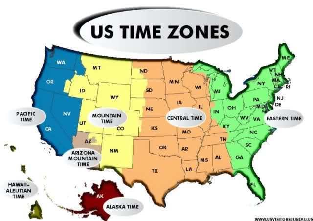 U S  Time Zones Make NO Sense