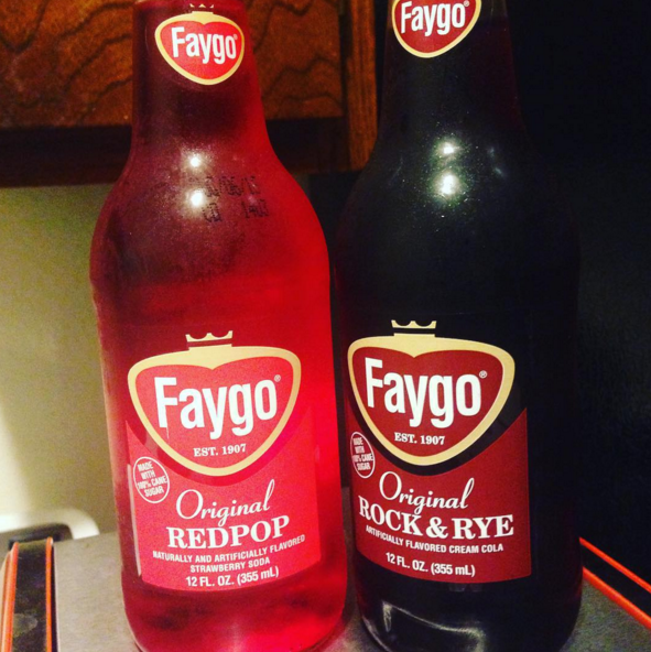 Faygo RedPop and Fagyo Rock & Rye — Michigan