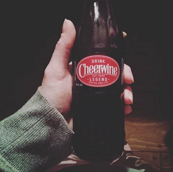 Cheerwine — across the South