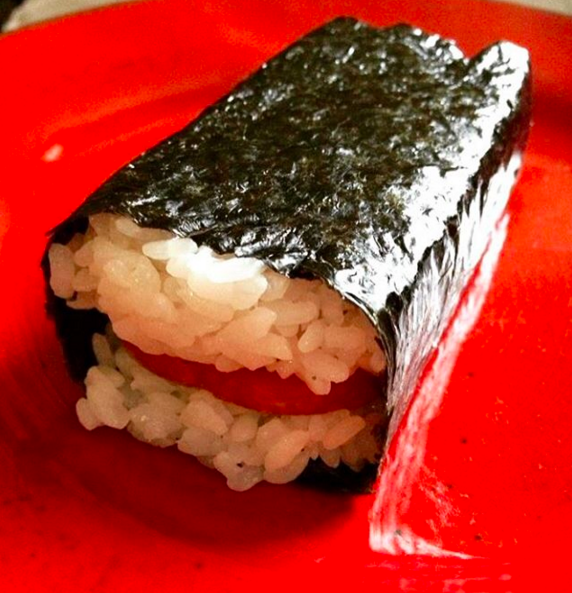 Spam Musubi from 7-Eleven — Hawaii