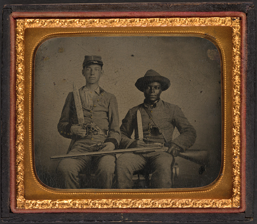 The Secret History Of The Photo At The Center Of The Black Confederate Myth