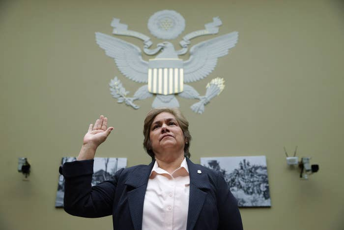 U.S. Immigration and Customs Enforcement Director Sarah Saldana.