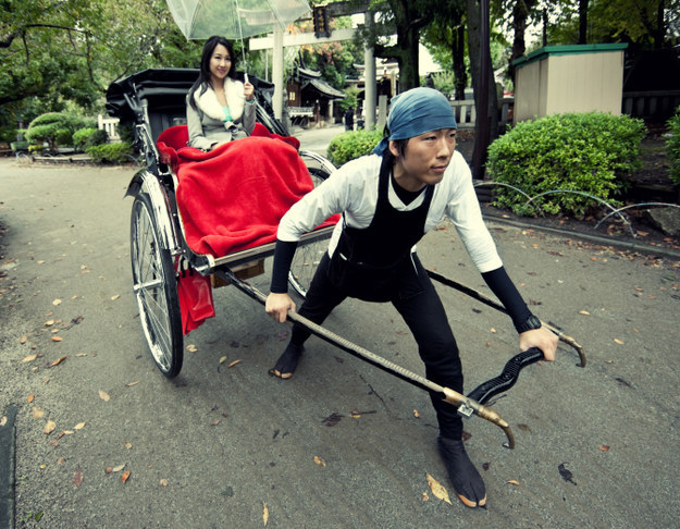 Human-Powered Rickshaws (Japan)