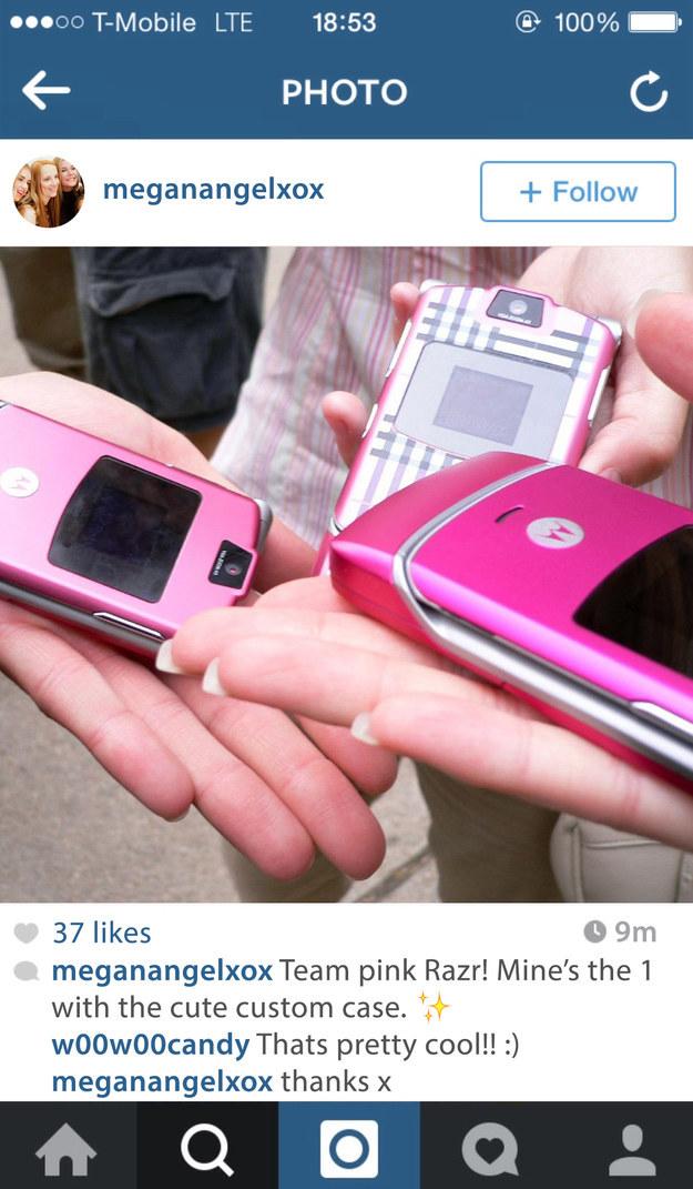 Y de tu Motorola Razr. Especialmente si tenías una carcasa personalizada para el mismo.