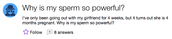 The man with the world's most powerful sperm: