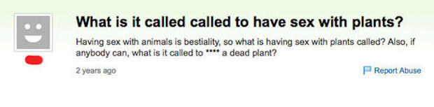 Ol' plants fucker: