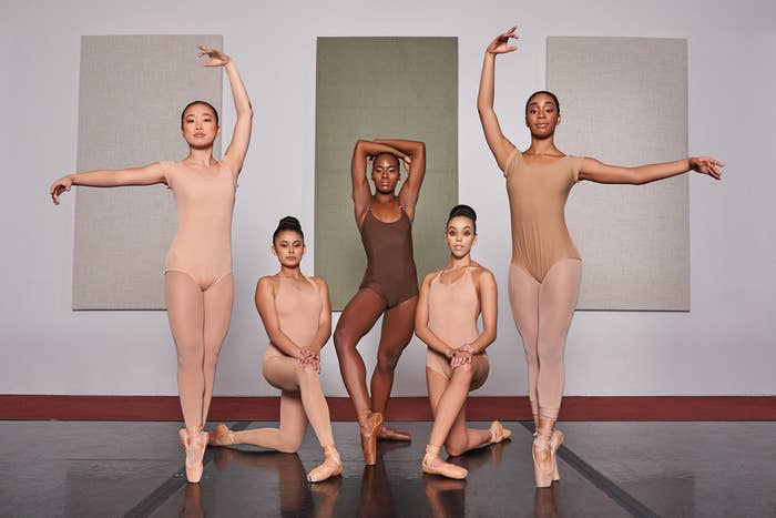 Bracey, who was still making swimwear, got the idea after her friend and founder of Brown Girls Do Ballet, TaKiyah Wallace, tipped her off that there were no nudes for people of color in the dance industry.