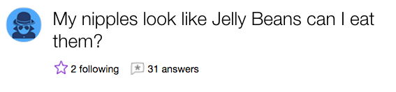 This jelly bean lover: