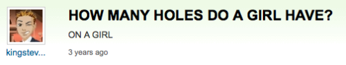The hole wanderer: