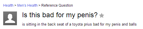 The man who asked this very important question:
