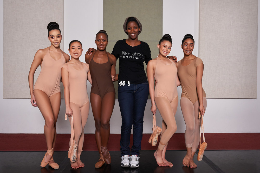 This Clothing Designer Makes Nude Dancewear For Dancers Of Color