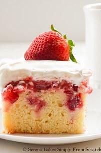 Red Velvet Cake With Condensed Milk Glaze