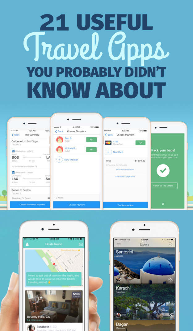 21 Useful Travel Apps You Probably Didn't Know About