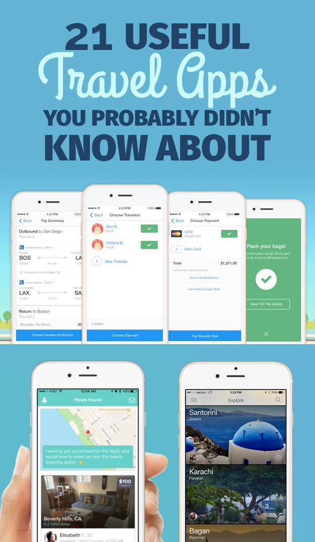 21 Amazing Travel Apps You've Never Heard Of