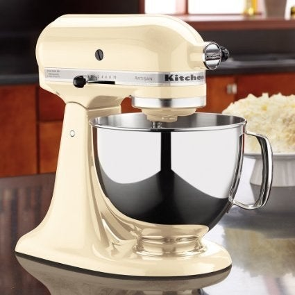 Prices vary on Amazon based on the colors, but a 5-quart mixer will cost roughly $275.