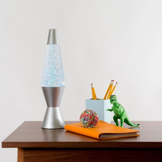 A glitter lamp to mesmerize you.