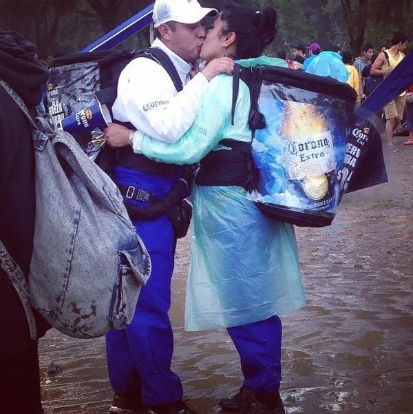 El amor en los festivales mexicanos.