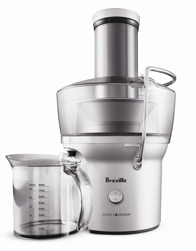 This juicer that's really efficient and easy to use for the mom who can't get enough green juice.
