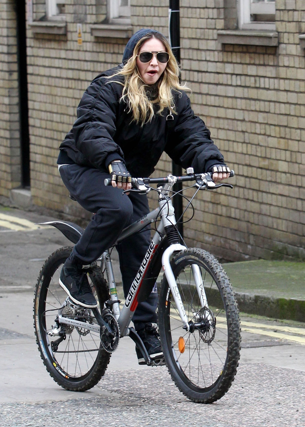 These Photos Of Madonna Riding Her Bike Are Fucking Iconic