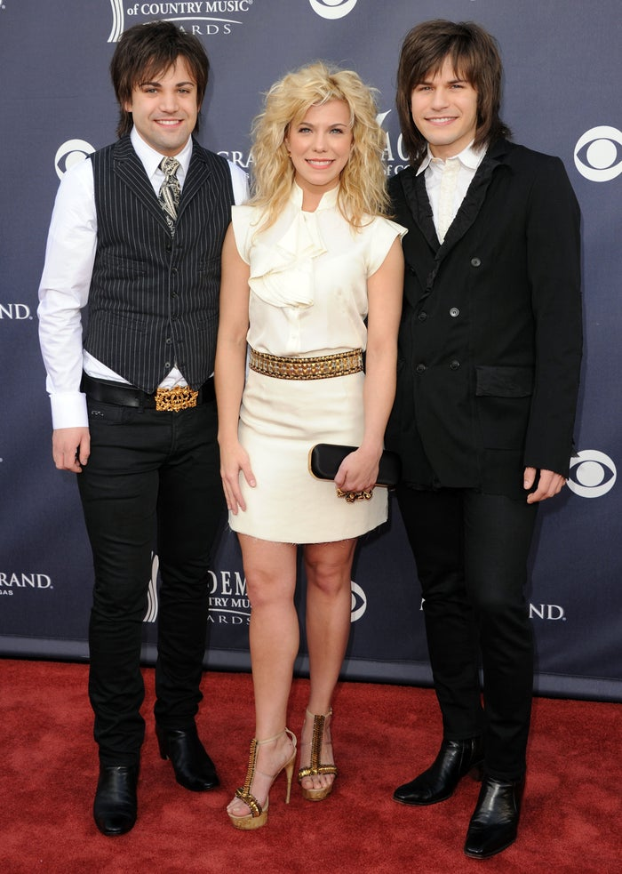 At the 46th Annual Academy Of Country Music Awards on April 3, 2011 .