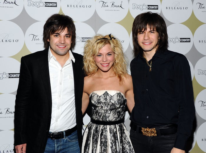 At a celebration of Nashville in Vegas at the Bellagio on April 2, 2011.