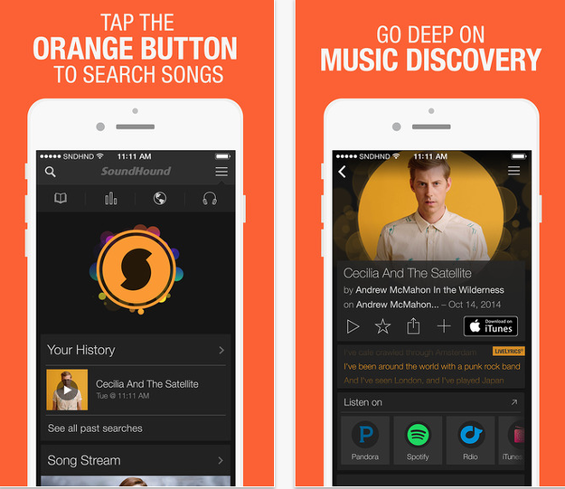 This awesome app for all those times you hear a song you really like but don't recognize.