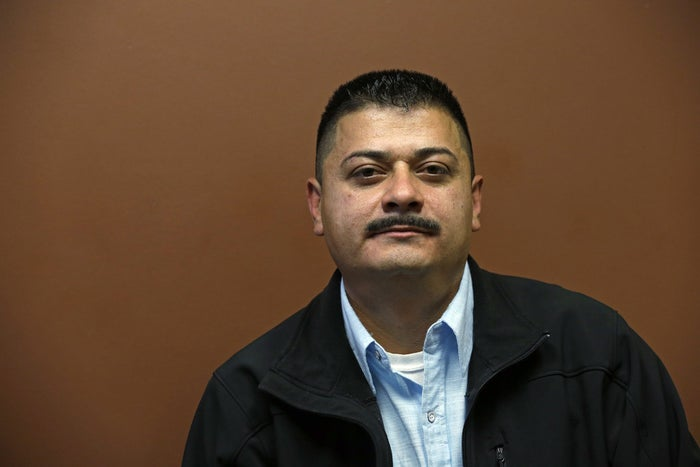 Ignacio Lanuza, who was almost deported after an ICE official forged a document in his case.