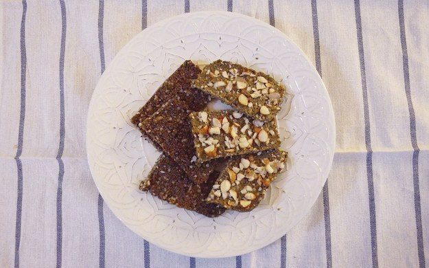 Peanut Butter Chia Bars