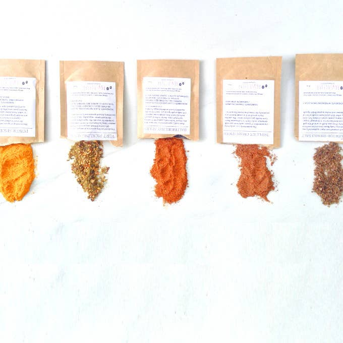 What it costs: $26/quarterly (monthly, 6-month, and 12-month subscriptions).What you get: Each month you get packets of three freshly-ground spice blends plus recipes that'll teach you how to use them! Why it's cool: The recipes are pretty manageable with easy-to-find ingredients, and the spice blends are sure to expand your ~kitchen horizons~.