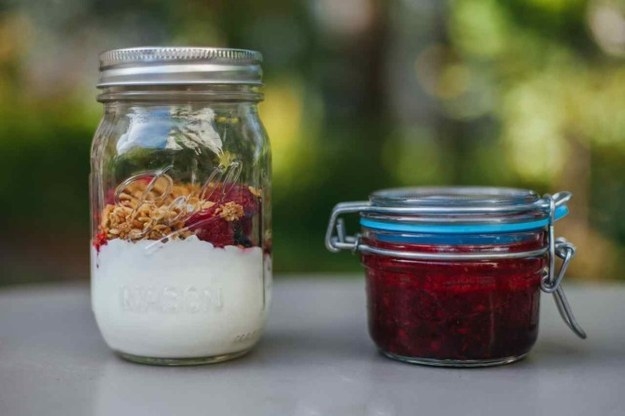 Blackberry Chia Greek Yogurt Parfait