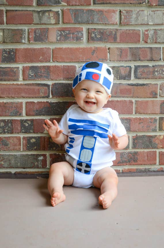 Perfect for the baby of a Star Wars fan. Find it here for $38.