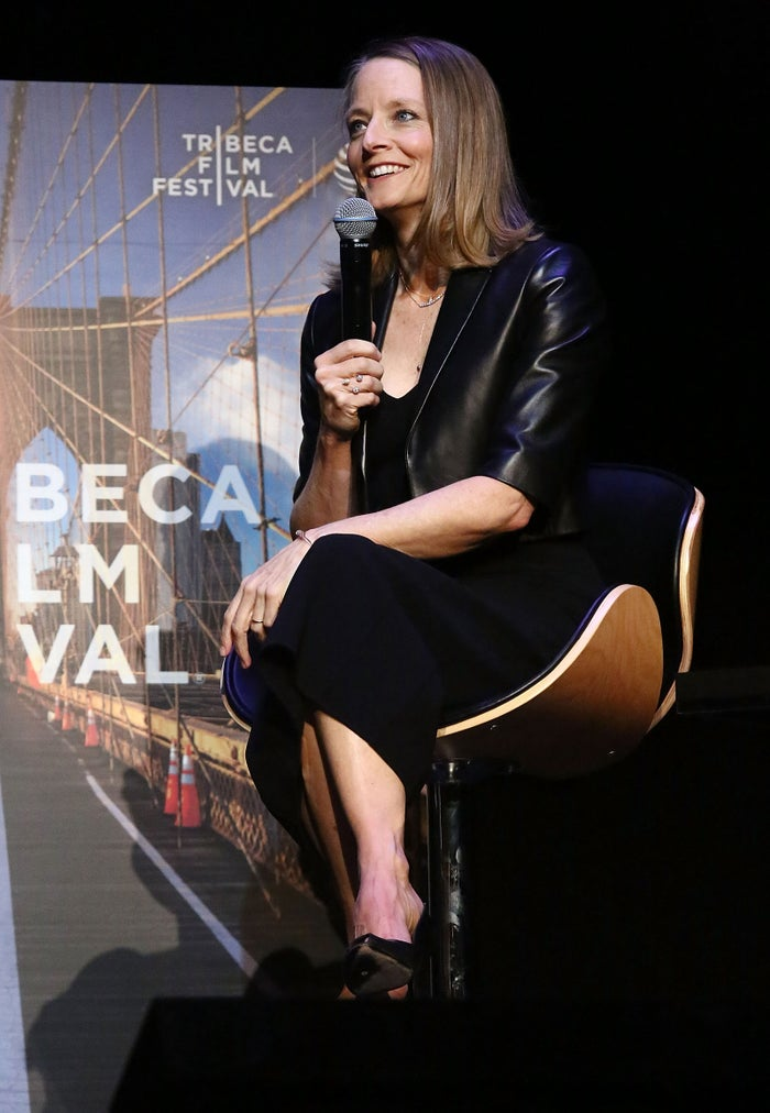 Foster during the 2016 Tribeca Film Festival.